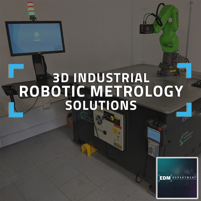 3D Industrial Robotic Metrology Systems