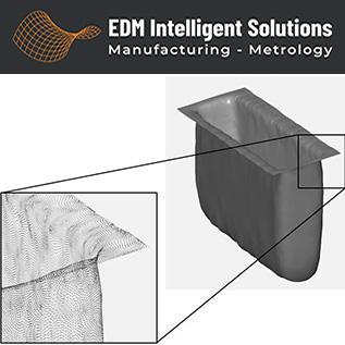 Aerospace and Defense 3D Metrology Slot Inspection