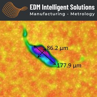 3D Metrology Services – Aerospace – Defect Detection On Spline Surface