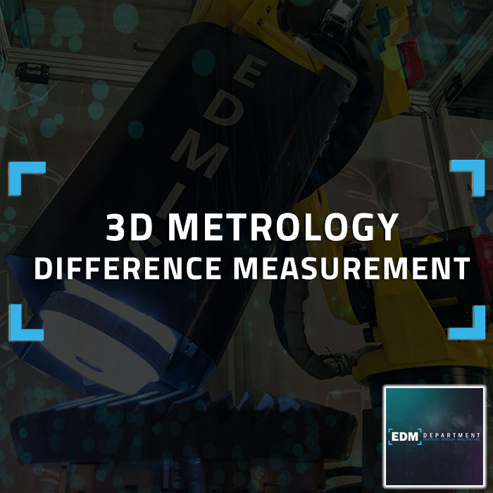 3D Metrology Difference Measurement
