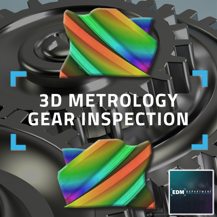 3D Metrology Gear Inspection