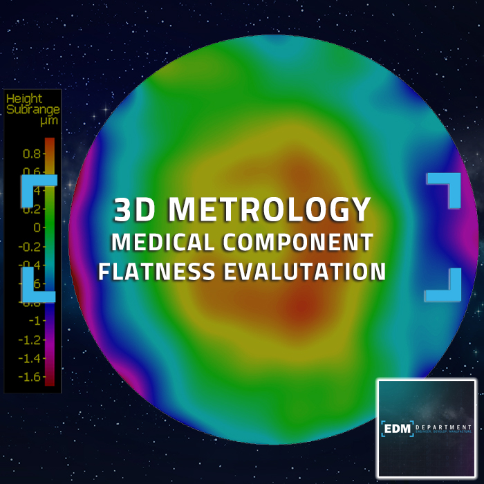 3D Metrology - Medical Component - Flatness Evaluation
