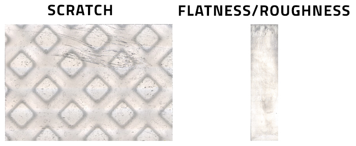 3D Medical Surface Finish and Flatness Evaluation