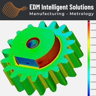o 3D METROLOGY SERVICES – Micro Gear Form Inspection & Comparison to CAD