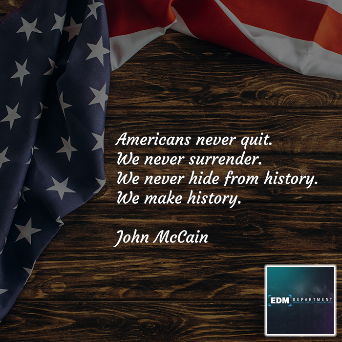 Americans Never Quit