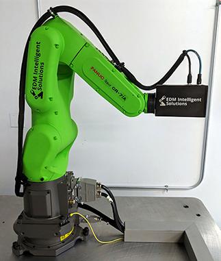 Robotic Metrology - RSH-CR7 - EDM Department