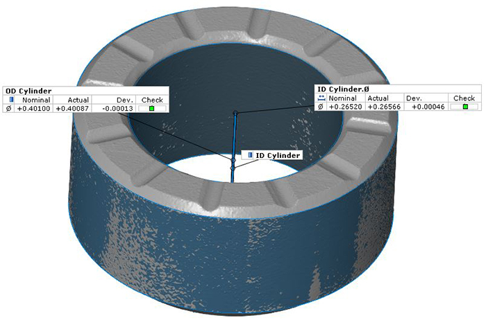 Industrial 3D Form Inspection and Generation of STL File