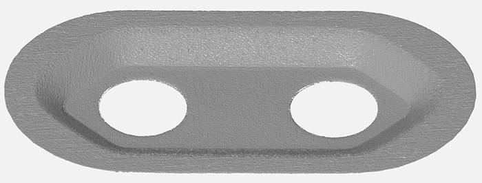 Industrial Stamped Component 3D Form Inspection