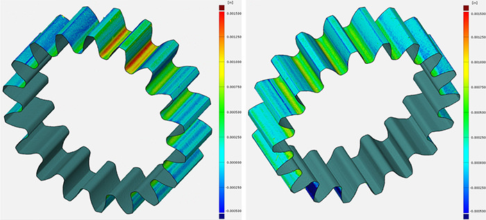 3D METROLOGY SERVICES – Micro Gear Form Inspection & Comparison to CAD