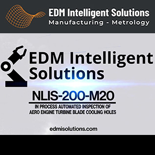 In Process Automated Inspection of Cooling Holes - NLIS-200-M20 - EDM Department Inc.