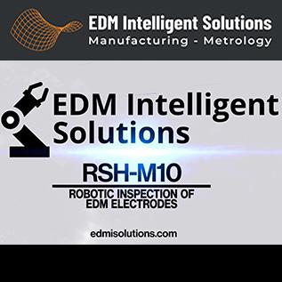 Robotic Inspection of EDM Electrodes - RSH-M10 - EDM Department Inc.