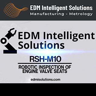 Robotic Inspection of Engine Valve Seats - RSH-M10 - EDM Department Inc.