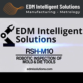 Robotic Inspection of Mold and Die Tools - RSH-M10 - EDM Department Inc.