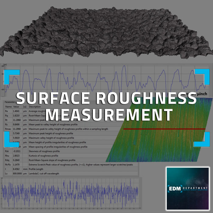 3D Metrology Surface Roughness Measurement